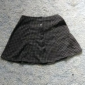 Dresses & Skirts - ⭐ Gray Button Up Mini Skirt